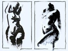 Robert Elliott - Acrylic on paper