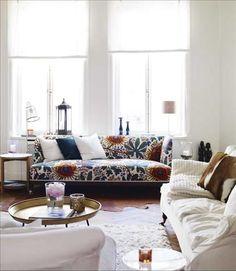 Swedish interior design at its best. From magazine Sköna Hem