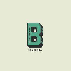 Bake's Brew Brand mark - By Daniel Javier Design Badge Design, Logo Design, Graphic Design, Typography Logo, Logos, Letter Logo, Design Firms, Farmers Market, Badges