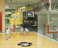 Fabulous and Wonderful Indoor Sport Area Decoration of TBWA Chiat Day office in Los Angles