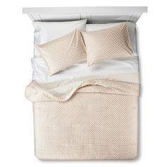Threshold™ Mini Floral Comforter Set - Cream