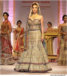 Bridal Lehenga Designs at Bridal Fashion Week | Indian Wedding Dresses