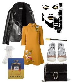 """A little bit of 60s and 80s vibe"" by fashionyte ❤ liked on Polyvore featuring STELLA McCARTNEY, Gucci, VIVETTA, Monsoon, Cartier, Chanel and vintage"