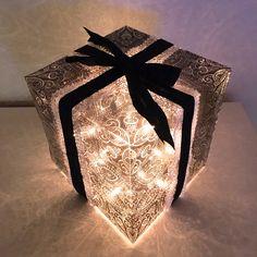 lahjapaketillinen valoa, ohje
