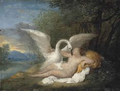 View Leda and the Swan by Nicolas Vleughels on artnet. Browse upcoming and past auction lots by Nicolas Vleughels. Aphrodite, Nerd Nite, Zeus Children, Swan Painting, Greek Mythology, Roman Mythology, Art Themes, Illustration Art, Illustrations