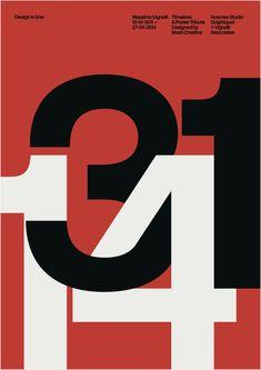 33 affiches pour un monument du graphisme
