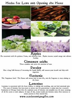 Herbs for Love and Opening the Heart