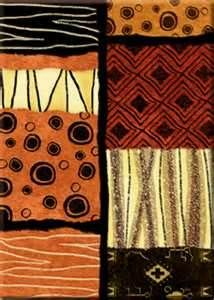 African patterns for the Afrocentric Queenʻs home. I love the triangles and the colors in these patterns. Her house would be very tribal!