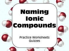 how to write a chemical formula with three compounds ionic