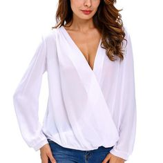 Dentelle épissage croix blouse drapée pour dame haute chemise en mousseline de soie bas