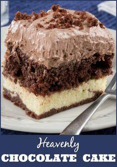 13 Diabetes-Friendly Desserts You�ll Never Believe Are Sugar-Free via Diabetic Chocolate Cake, Diabetic Deserts, Diabetic Friendly Desserts, Diabetic Snacks, Diabetic Cake Recipes, Sugar Free Chocolate Cake, Diabetic Brownie Recipe, Heavenly Chocolate Cake Recipe, Diet Recipes