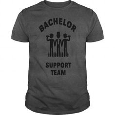 I Love Bachelor Support Team Stag Party  Shirts & Tees