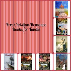 Free Christian Romance Novels for your Kindle  :)