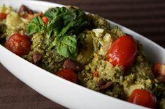Vegan Pistachio Pesto Quinoa