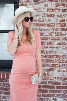 Ruched T Shirt Maternity Dress | Isabella Oliver