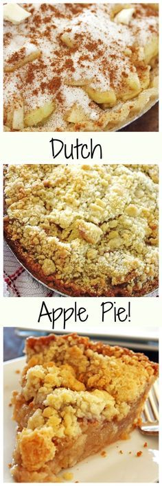 Apple Pie with a yummy crumb topping!