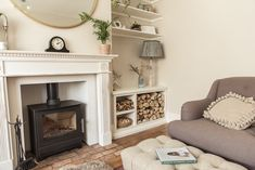 10 clever chimney breast and alcove ideas | Fifi McGee | Interiors + Renovation Blog