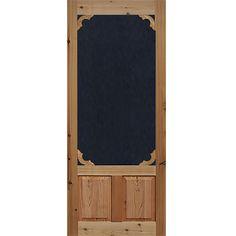 Amazing Screen Door Cedar Woodland 1 3/8 In. Thick