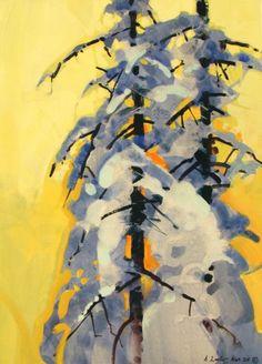Fresh Snow & Spruce Patterns by Stephen Quiller