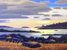 Nicholas Bott Seascape Paintings, Cool Paintings, Landscape Paintings, Landscapes, Canadian Painters, Canadian Artists, Love Painting, Painting & Drawing, Abstract Landscape
