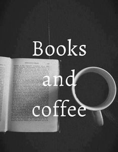 Libros y café // books and coffee Coffee And Books, I Love Coffee, My Coffee, Coffee Life, Coffee Shop, Coffee Break, Coffee Reading, Coffee Cozy, Coffee Names