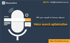 All you need to know about voice search optimization Search Optimization, Digital Campaign, Need To Know, Get Started, The Voice, Digital Marketing, How To Get, Business, Store