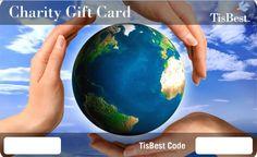 Charitable gift card