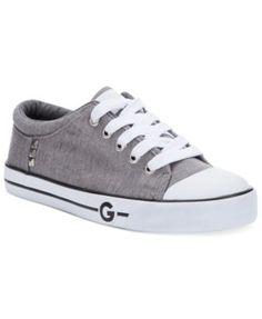 G by GUESS Women's Oona Sneakers-Grey,Navy Tweed,White-$49.00 NAVY TWEED