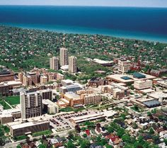 The University of Wisconsin-Milwaukee (UWM), my alma mater. While the campus is located in an affluent old-money region of the metropolitan area, many who went there (including me) were first-generation college students and Milwaukee natives who just commuted to school every day. It was a great way to reduce the cost of getting a college education. Milwaukee, WI.