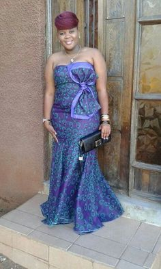 2019 Ankara gowns for Top stylish Ankara gown for ladies, African Print Dresses, African Dresses For Women, African Attire, African Wear, African Women, African Prints, African Clothes, African Style, African Inspired Fashion