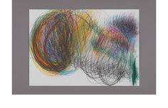 Yuichi Saito. Abstract drawing, art brut