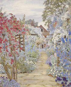 E.A. Rowe: Summer Garden