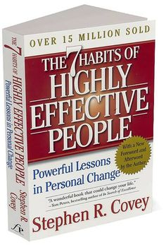 The Seven Habits of Highly Effective People Inspirational Book