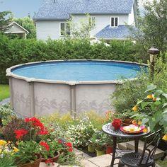 above ground pool backyard ideas | Above Ground Pools- Aqua Paradise Pools