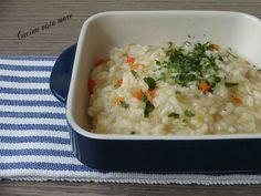 Il risotto al sedano rapa è la ricetta semplice per preparare con pochi ingredienti un primo piatto dal gusto delicato ma intenso allo stesso tempo!