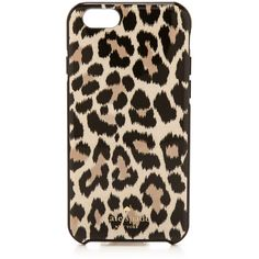 Kate Spade New York Leopard Ikat iPhone 6 / 6s Case (335 NOK) ❤ liked on Polyvore featuring accessories, tech accessories, phone cases, phone, cases, iphone, leopard, leopard print iphone case, apple iphone case and iphone cases