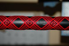 This is one of my husband's patterns he does when wrapping fishing rods. Some of the patterns are just gorgeous.