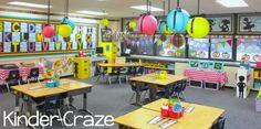 bright rainbow kindergarten classroom tour