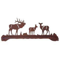 Elk Family Scenic Towel Bar -IDI-BA-8476BP