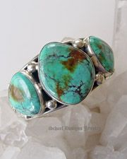 Turquoise Cuff Bracelet | Schaef Designs Turquoise Jewelry