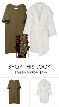 """Untitled #2708"" by teastylef ❤ liked on Polyvore featuring Maison Margiela, Bottega Veneta, Giuseppe Zanotti, women's clothing, women, female, woman, misses and juniors"