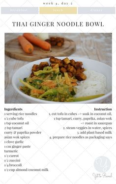 """""""The Veganning"""" is a recipe e-book with recipes, tipps and tricks that support you on the first 30 days of your vegan journey Vegan Gluten Free, Gluten Free Recipes, Vegan Recipes, Steam Veggies, Cooking Spoon, Noodle Bowls, Vegan Dishes, Along The Way, Lunches And Dinners"""