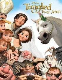 Tangled Ever After so funny as horse shit