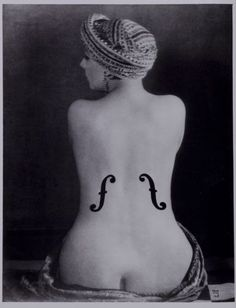 by Man Ray - who was Bill Brandt's teacher. Here, before we plunge into Joel-Peter Witkin's version, is the original.  (SJ)