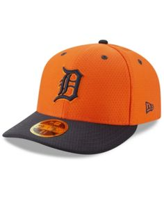 finest selection 2c7ca 0acfc New Era Detroit Tigers Batting Practice Low Profile 59FIFTY-fitted Cap -  Blue 6 7 8