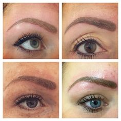 Permanent makeup 4 different brows