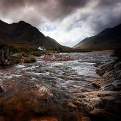 Glencoe, Argyll, Scotland by David Mould