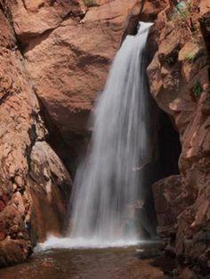 Rainbow Falls in Manitou Springs Colorado