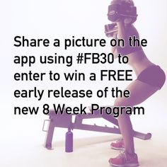 Over the next 12 hours we're giving away 50 free EARLY RELEASE ‪#‎FB30‬ Programs to our app members! All you have to do is download the free Fitness Blender app (free on both iOS: http://apple.co/1Fr1ogD & Android: http://bit.ly/1aNIclV) & share a picture using #FB30. This is our newest 8 Week Fat Loss Program, featuring workouts that are 30 minutes or less/day & it isn't even available for purchase until Sunday, Sept 27th. If you've enjoyed our Fitness Blender community you will love this a...