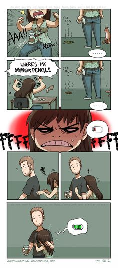 Bad Day by Zombiesmile.deviantart.com on @deviantART
